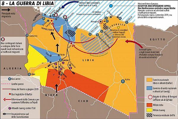 Libia Italia Cartina.Inchiostronline